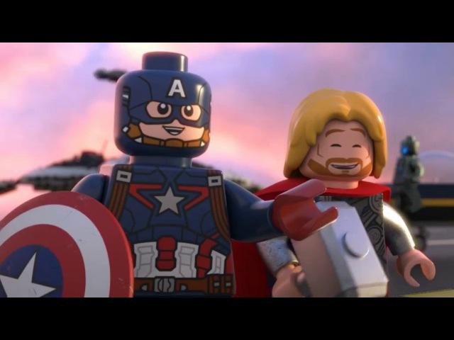 Лего Марвел Мстители : Общий сбор. Епизод 4. *Озвучка Klens`a