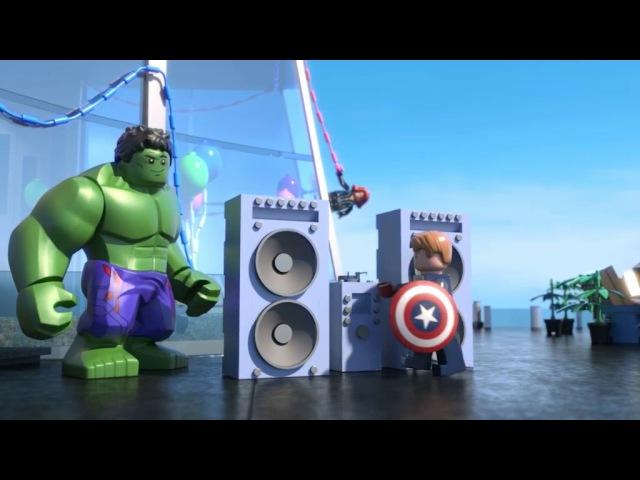Лего Марвел новые мстители : Общий сбор
