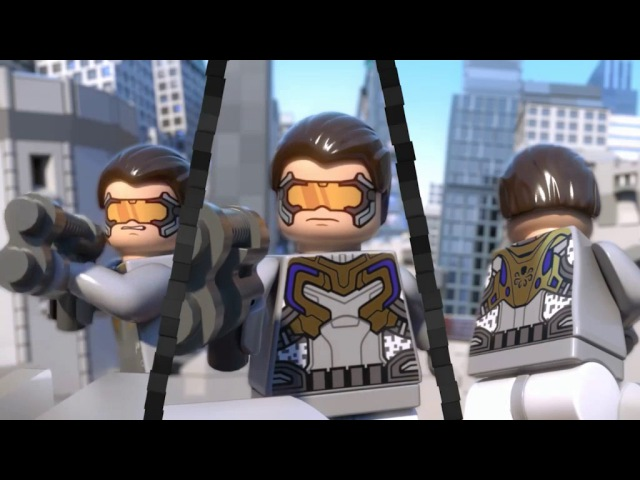 LEGO Марвел Мстители : Общий сбор..3 епизод...