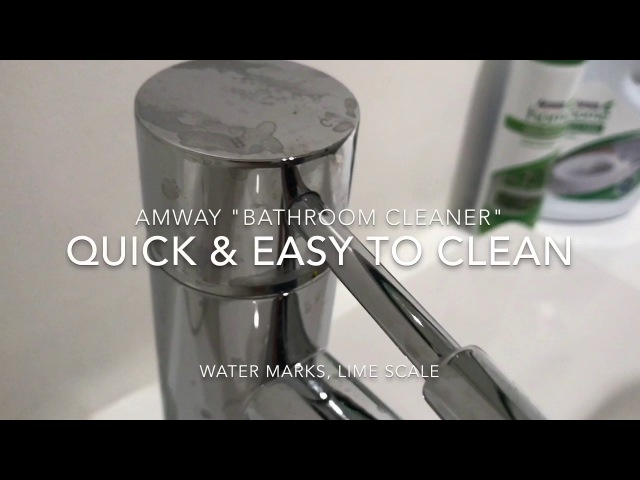 Amway Demonstration Bathroom cleaner L O C