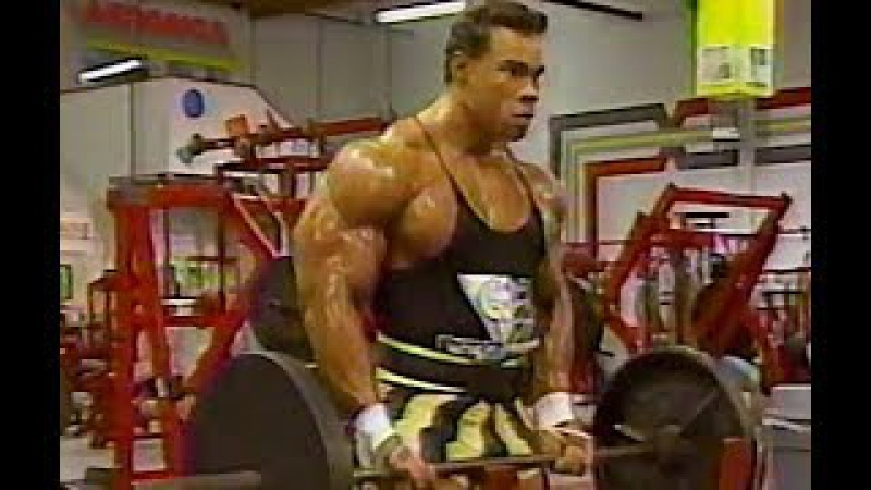 Kevin Levrone Rare Arm Workout 1991 HQ (for age) 265 pds.