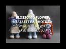Amigurumi crochet SMURF LADIES. Part 5/5 BLOSSOMS FLOWER PHOTOS/ KWIAT ROZKWITKI i FOTKI