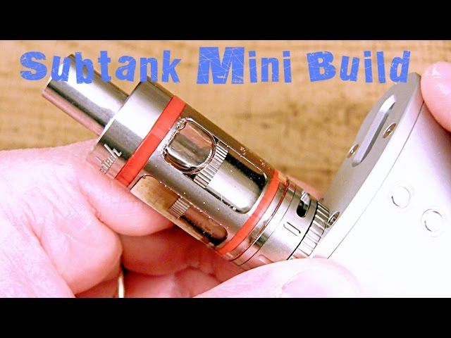 Kanger Subtank Mini RTA Build
