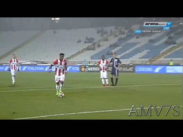 GOL BOACIJA   Crvena Zvezda - Rad 20   Super Liga Srbije 17. kolo   18.11.2017.