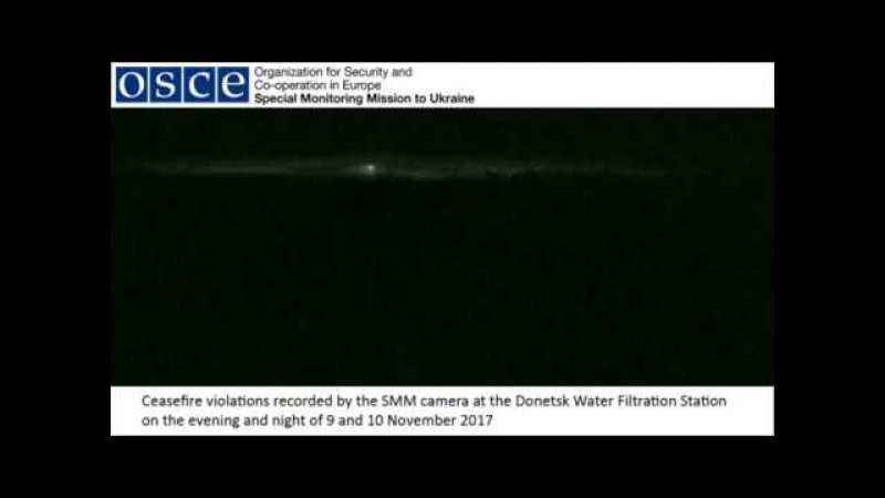 Ceasefire violations recorded at the Donetsk Water Filtration Station