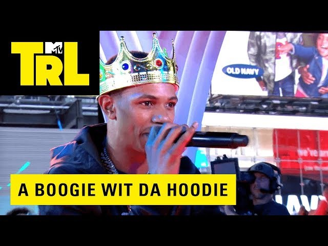 A Boogie Wit Da Hoodie Performs 'Drowning (WATER)' | Weekdays at 3:30pm | TRL