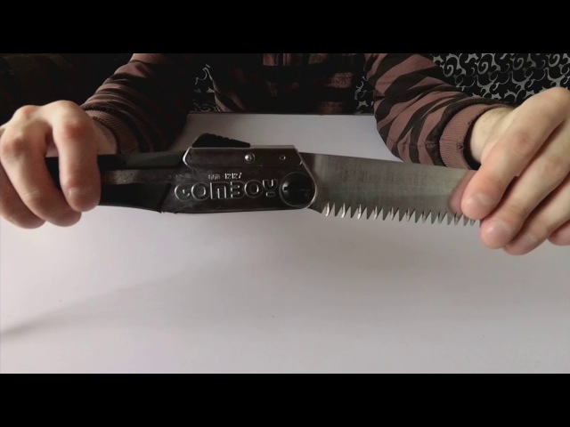 [ОБЗОР] Походная пила Silky GOMBOY270 | Полный обзор • My Bushcraft folding Silky Saw overview