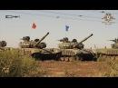 В ДНР проходят соревнования танковых экипажей