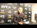 UFC 218 Kevin Lee Talks Getting the Itch to Fight Again