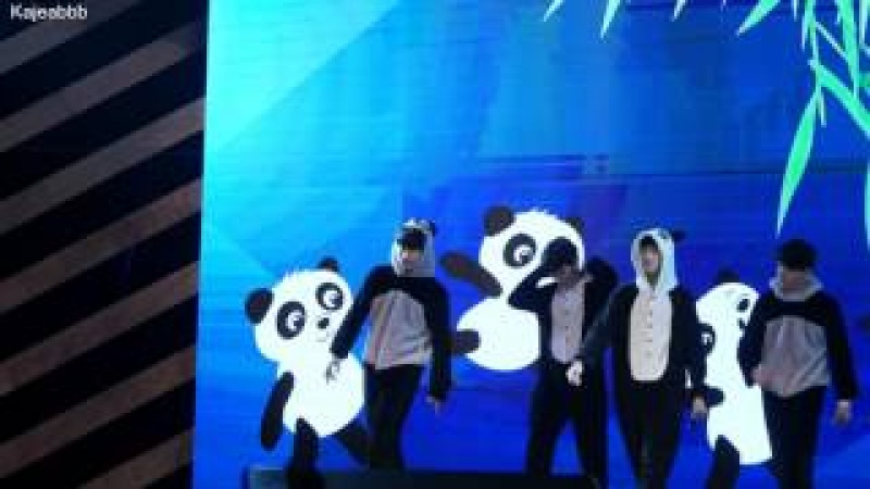 คริส-สิงโต-ออฟ-นิว (Krist-Singto-Off-New) - Game1 Panda [4k] SotusFanmeetinChengdu - 170722