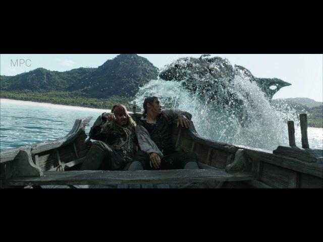 MPC Pirates of the Caribbean: Dead Men Tell No Tales VFX breakdown