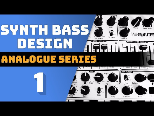 TWENTY9Audio - Arturia Minibrute   Modern Bass Synth Design