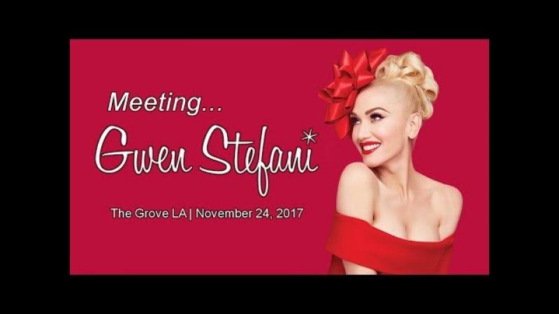 TTL Nerd | Meeting Gwen Stefani at The Grove LA