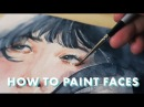 HOW TO PAINT FACES WITH WATERCOLOR Tutorial Q A