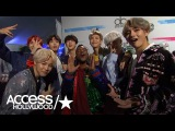 BTS On Their Epic AMAs Performance &amp How The BTS Army Supports Them  Access Hollywood
