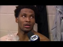 Justise Winslow Postgame Interview Heat vs Sixers February 2 2018 2017 18 NBA