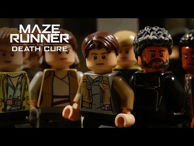 Maze Runner The Death Cure Lego Trailer 20th Century FOX
