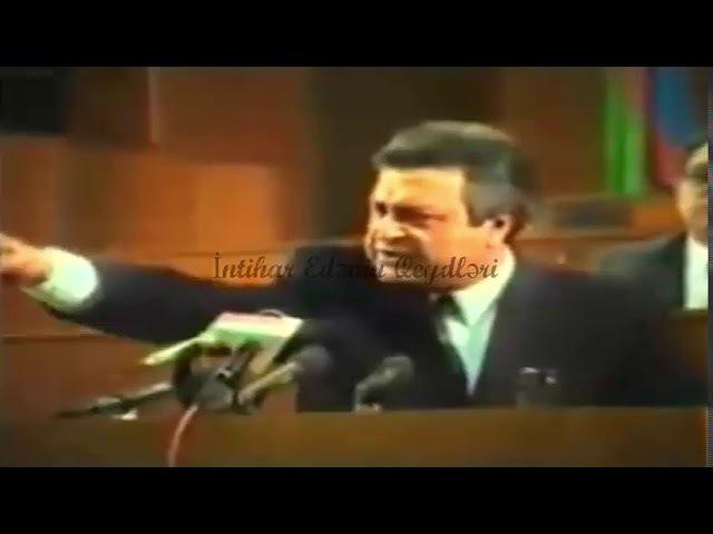 Ayaz Mütəllibov Lazım Gəlsə Diktatura Olacaq (14 May 1992)