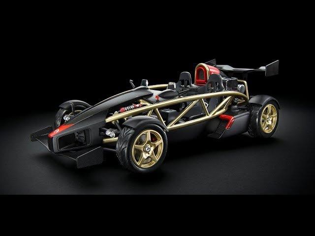 Ariel Atom V8 championship чемпионат и тест