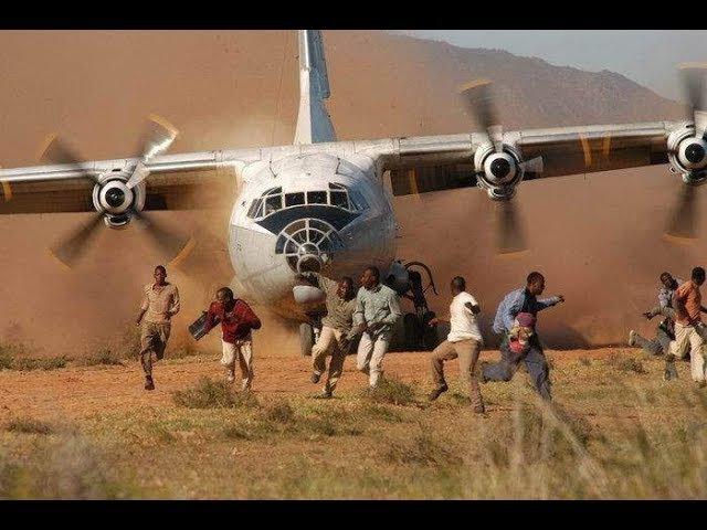 Страшная и одновременно красивая посадка самолета