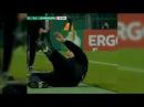 футбол. Тренер немецкой футбольной команды отметился нелепой симуляцией