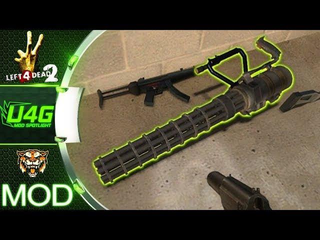Nemesis Gatling Gun (M60) Left 4 Dead 2 Weapon Mod Spotlight