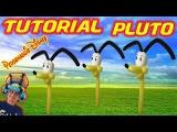 PALLONCINI MODELLABILI tutorial 46 PLUTO (personaggio Disney) Balloon Twisting
