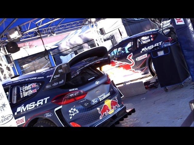 TzRallye0412 - WRC 2018 - 01 Rallye Monte-Carlo - Service-park