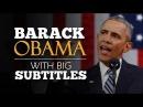 ENGLISH SPEECH | BARACK OBAMA: Yes We Can (English Subtitles)