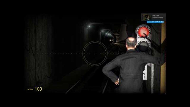 G.Mod-Metrostroi:Вот и доверяйся этому автоведению!:Заезд в оборотник на АВ, не очень уда...