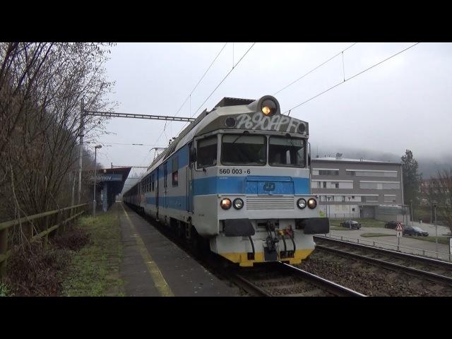 Vlaky Adamov 2.1.2017