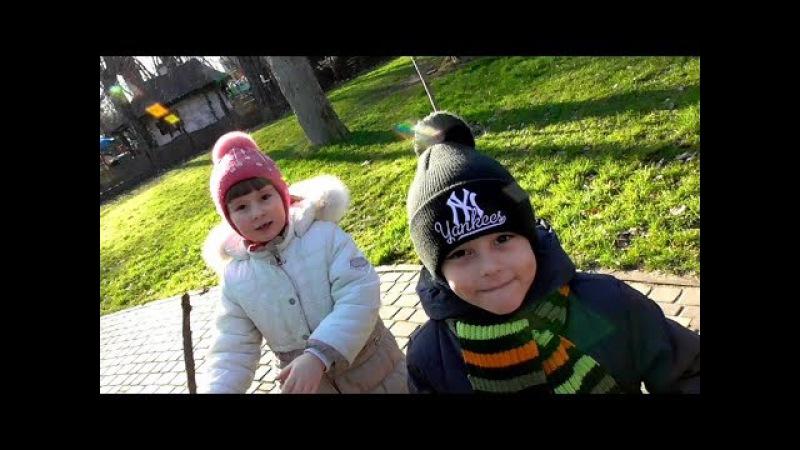Глеб Играет в Парке Развлечения для детей! Entertainment for children and adults Park recreation