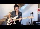 The Eagles - Hotel California solo (Cover by Chloé)