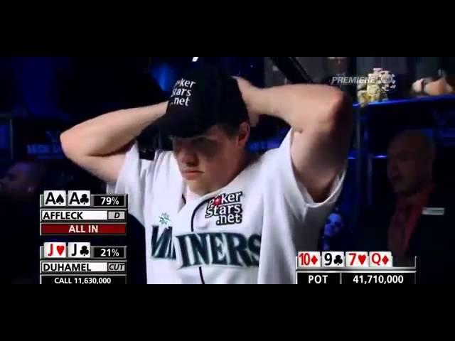 The Unluckiest Poker Player - Matt Affleck vs. Jonathan Duhamel - WSOP