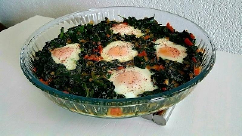 Ispanıklı Yumurta Tarifi (Kahvaltilariniza yada aksam yemegi olarak yapabilirsiniz)-Hatice Mazi