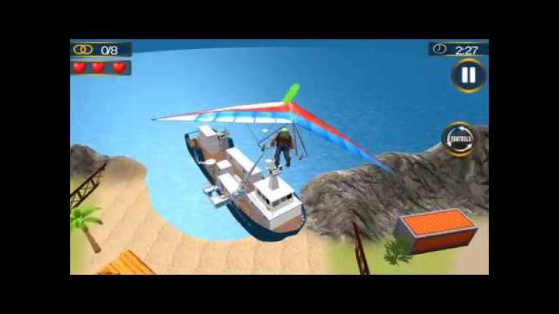 Дельтапланеризм воздушных 3D