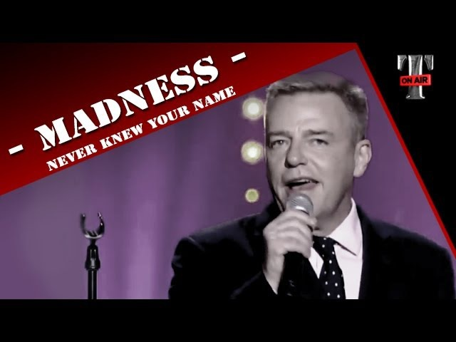 Madness Never Knew Your Name (Live Taratata Jan 2013)
