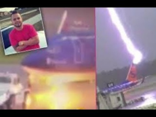 Florida Airport Worker struck by Lightning Strike.