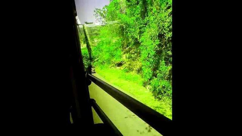 Сейшелы: о. Маэ.праворукий автобус-левостороннее движение.
