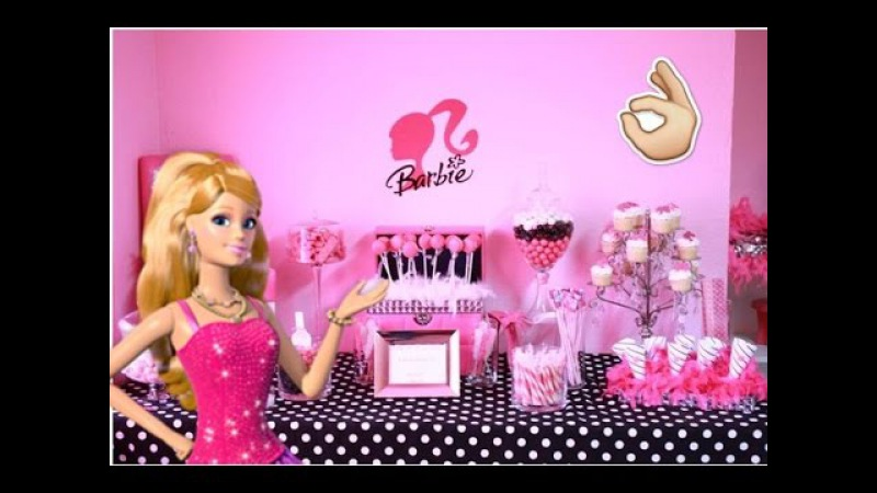 BARBIE-- Fiesta Tematica Decoracion