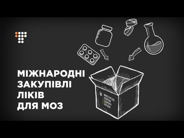 Міжнародні закупівлі ліків для МОЗ як це відбувається