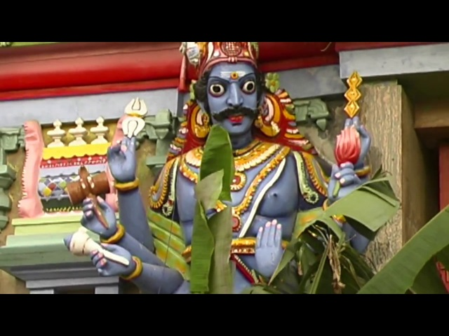 ШРИ ЛАНКА Коломбо храм Ганешан SRI LANKA Colombo temple Ganesan श्रीलंका मंदिर गणेशन ...