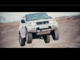 Легенда Дакара-Mitsubishi Pajero Evolution.