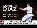 BRONZE Antonio Diaz Kata Anan Dai 2016 World Karate Championships