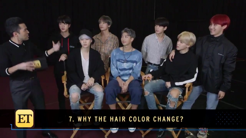[VIDEO] BTSxET What's the reason behind @BTS_twt's latest hair color change?