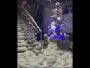 Снегопад в КБР, Поляна Азау. Хоть где-то он есть ☃ С Новым 2018 Годом 😊