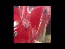 Оклейка защитной пленкой 2х бортов кузова автомобиля