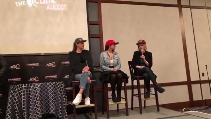Eliza Taylor talk about Lexa
