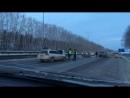 Серьезное ДТП произошло на трассе Кемерово Ленинск Кузнецкий
