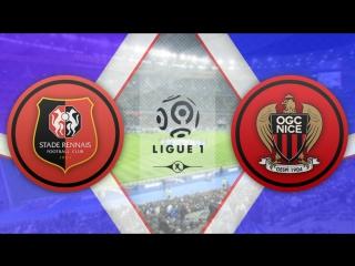 Ренн 0:1 Ницца | Французская Лига 1 2017/18 | 6-й тур | Обзор матча